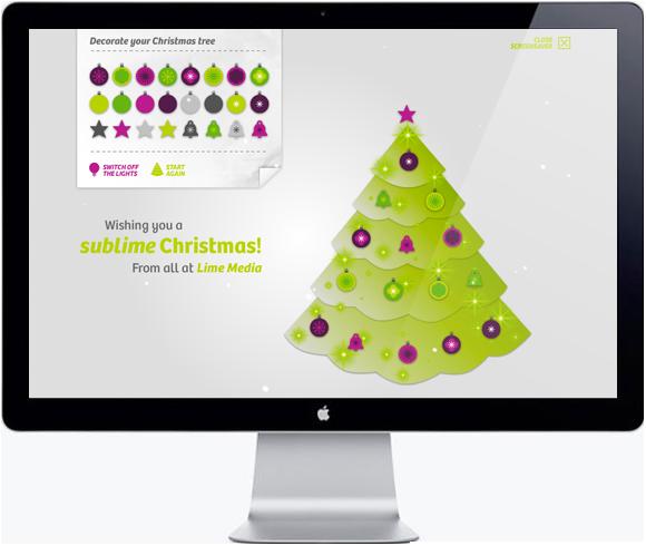 Lime Media Screensaver