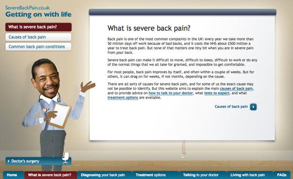 Napp – Severe Back Pain