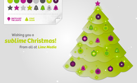 Lime Media Screensaver