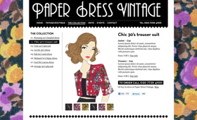 Paper Dress Vintage
